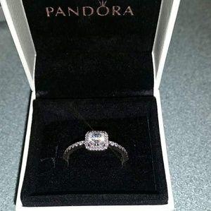 Pandora Square Cut Ring
